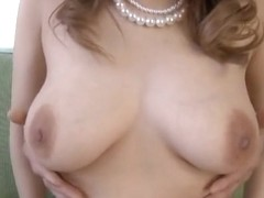 Yuna Nanjyou big boobed Asian chick is tit fucked