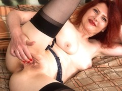Cee Cee in Black Stockings - Anilos