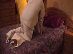 Lascivious wench does not wish foreplay