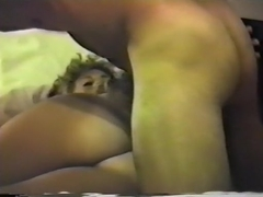 Susan preggo, unshaved and masturbating