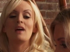 Naughty bitch Anikka Albrite fucks just with anyone!