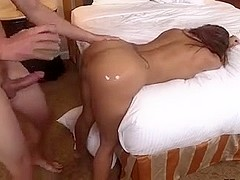 Oiled milf doggystyle