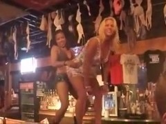 Public sex in a bar at Key West