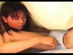 Japanese lesbian slut fingers another bimbo