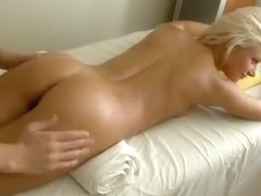 Best pornstar in amazing blonde, small tits sex scene