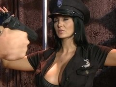 Busty police officer Ava Addams craving for hard stick