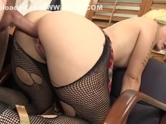 Best pornstar Victoria Paradice in amazing college, blonde sex clip