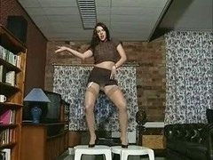 British whore Jade plays with herself in various scenes
