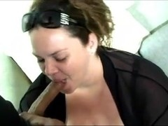 BBW with great tits gives a good fuck