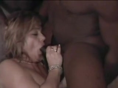 Older White Wife Takes Multiple Dark Partners in Cunt