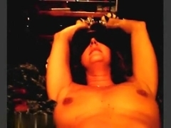 So sexy brunette milf wife like this kinky sex games with lustful husband