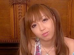 Serious blowbang series along nasty Anri Hoshizaki