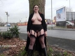Chubby amateur flasher Alyss