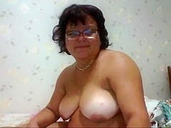 Fat Mature on Webcam R20