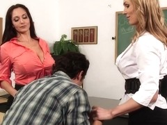 Ava Addams & Tanya Tate & Giovanni Francesco in My First Sex Teacher