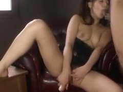 Fabulous Japanese chick Kanade Otaha in Crazy Blowjob/Fera, Threesomes JAV movie