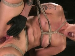 Lilith Luxe,The Pope in Pain Slut Lilith Luxe Cums Relentlessly from Torment and Rope Bondage! - T.
