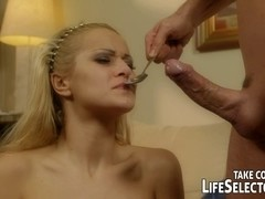 Booty banging slit fucking and food sex with Chary Kiss