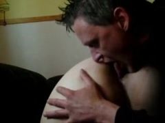 Homemade booty in which I lick slut's asshole