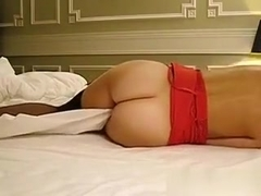 Fucking my hawt wife in the bedroom