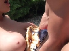 Hot fucking picnic with fantastic sweet latina Naomi!