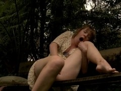 outdoor series-Slipping Off part two