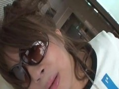 Japanese sexy girl is fucked in toilet