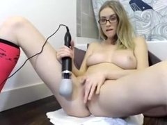 Angela #2  squirts with vibratot