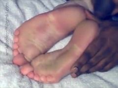 3 loads on her soles!