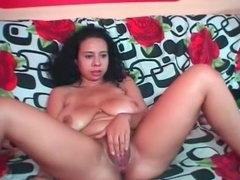 Camgirl Jany Riding Dildo