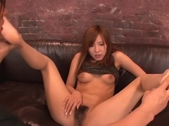 Best Japanese model Yuika Akimoto in Crazy JAV uncensored Threesomes video