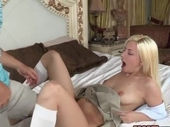 Vaginal sex is this cute chick's favourite part of her day
