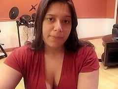 Big Breasted Black Brown Cutie Gets Doggy Style Drilled