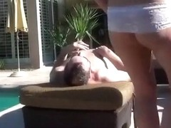 Face Fuck Poolside
