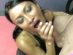 Sex Therapist Jasmine Shy 4 Preview LARGE BAZOOKAS TUGJOB STOCKINGS