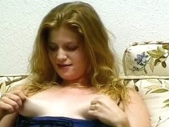Lonely Young Wife Plays With Her Toy
