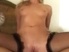 BBC owned golden-haired fuck doll
