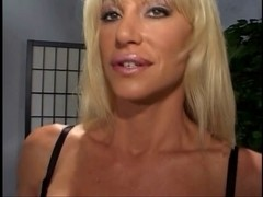 Sexually Excited blonde whore getting dong