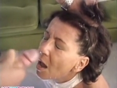 Pretty latin mature brunette make sex fun with his young dude in her homeenjoy