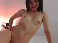 Stimulating virgin immature that I have seen on webcam