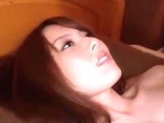 Yui hatano earns a creampie after giving an asian blowjob