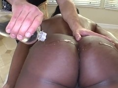 Nyomi Banxxx is unexpectedly squeezed