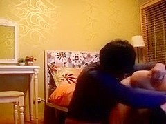 Korean creampie with my friend and his sexy wife in their bedroom