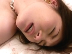 Finger-banging and doggy style sexing hot and horny Japanese milf