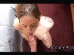 Milf Lilly is fucked in her tight globes with a dildo