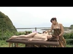 Outdoor spa massage 1