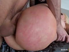Big Wet Butts: Anal Beads and a Shower Fuck. Candy Manson, James Deen
