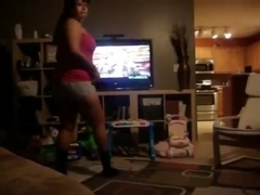 Fabulous twerking cam teenager clip