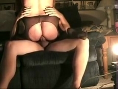 anal via pantyhouse