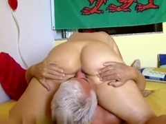 Older couple in action